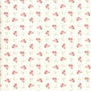 Moda - Porcelain - 3 Sisters - 6340 - Briar Rose Floral on Cream - 44197 11 - Cotton Fabric